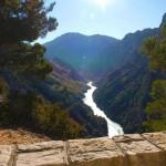 Vue depuis le Route du Canyon
