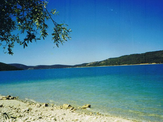 les salles sur verdon : découverte du lac de sainte croix